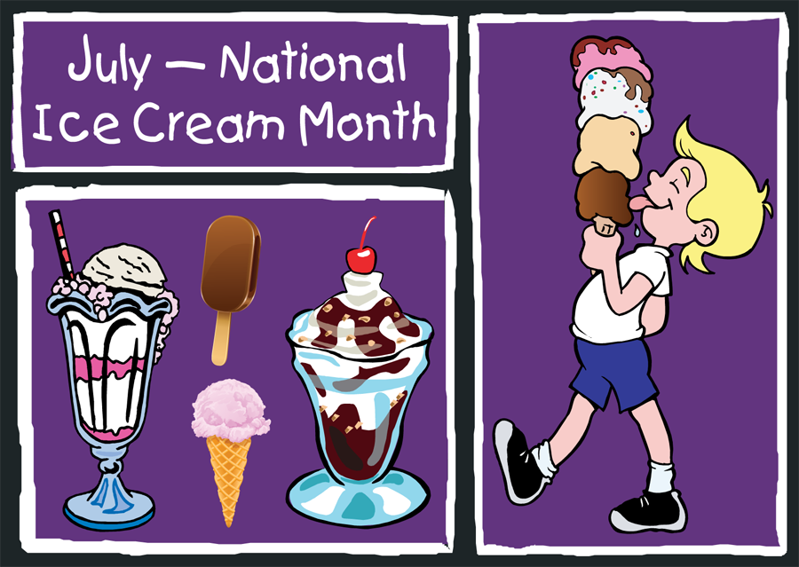 National-Ice-Cream-Month