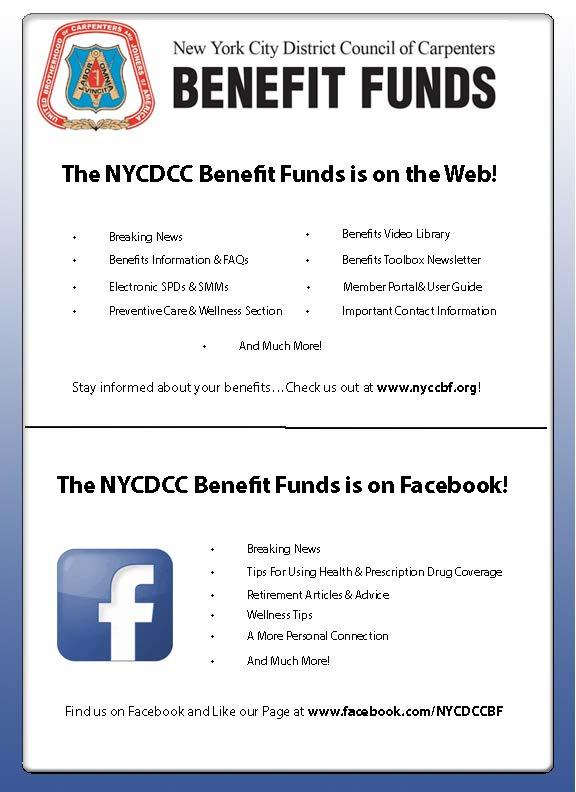 Website Facebook Leaflet