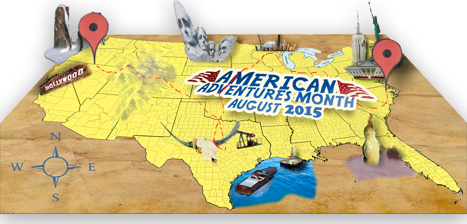 American Adventures Month Aug 2015 pic