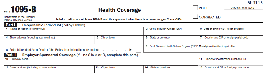 Important Information For Your 2016 Taxes Regarding Health Coverage