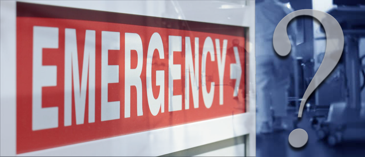 To Go to the Emergency Room or Not… That is the Question : The New ...