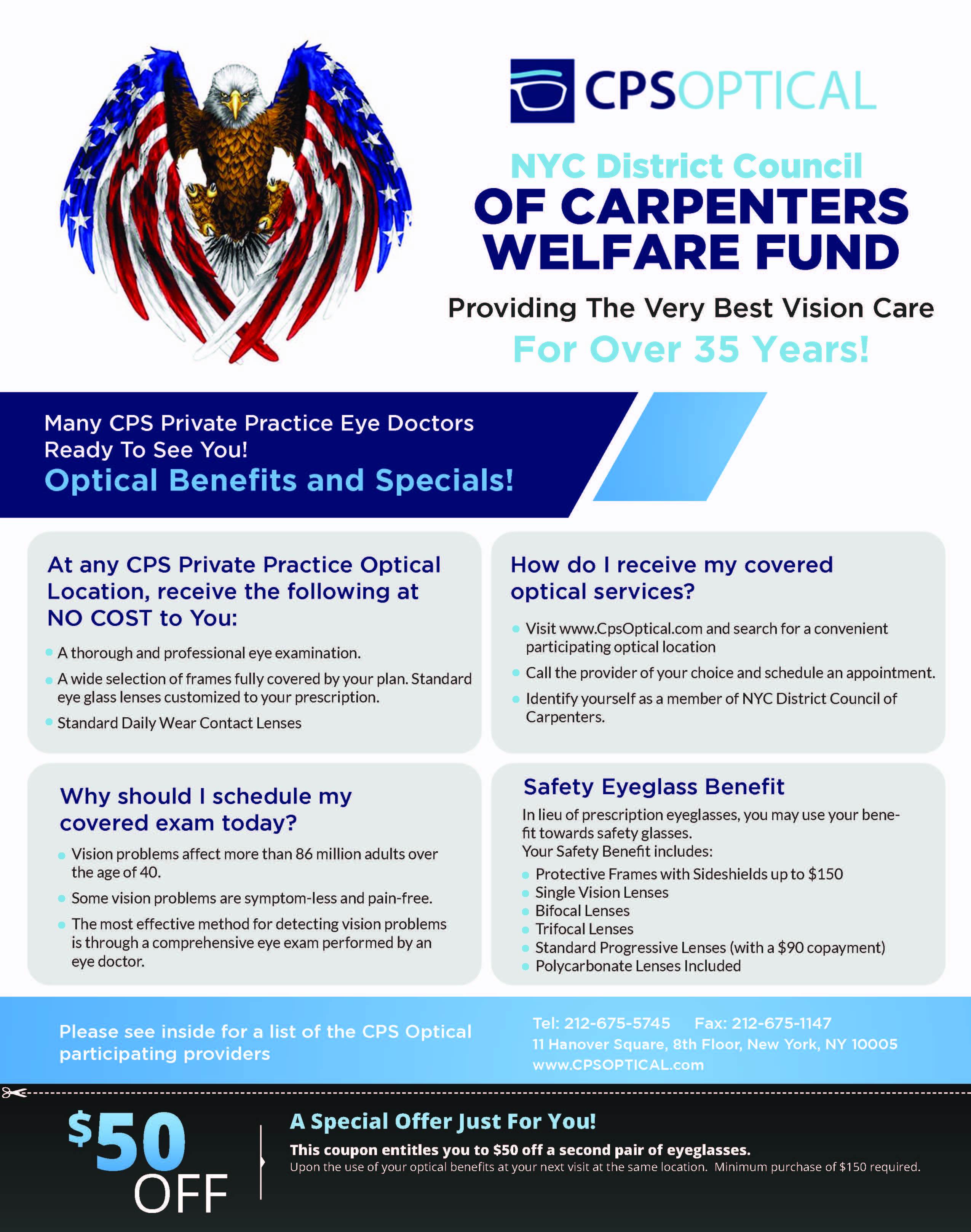 Check Out the Latest Vision Benefit Materials from CPS